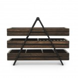 Terrace Jewelry Tray (Black / Walnut) - Umbra