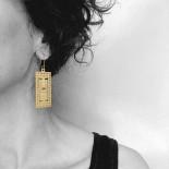 The Parthenon Earrings - A Future Perfect