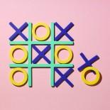 Tic-Tac Trivet Set (Cool Colors) - MoMA