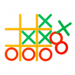 Tic-Tac Trivet Set (Warm Colors) - MoMA