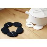 Pebble Silicone Trivet (Black) - Toast Living