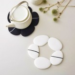 Pebble Silicone Trivet (White) - Toast Living