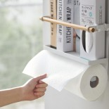 Tosca Magnetic Kitchen Storage Rack (White) - Yamazaki