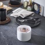 Tower Ceramic Canister Small (White) - Yamazaki