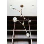 Tribeca Harrison Chandelier (Brass) - Menu