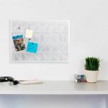 Trigon Bulletin Board (White) - Umbra