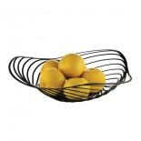 Trinity Fruit Holder (Black) - Alessi