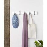 FLIP 5 Hook Coat Rack (White) - Umbra