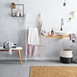Hub Ladder (White / Natural) - Umbra
