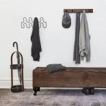 Bellwood Umbrella Stand (Black / Walnut) - Umbra