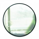 Hub Wall Mirror 24 Inch (Black) - Umbra