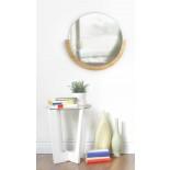 Mira Wall Mirror (Natural) - Umbra