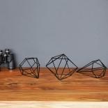 Prisma Wall Decor Set of 6 (Black) - Umbra