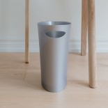 SKINNY Trash Can / Waste Bin (Silver) - Umbra