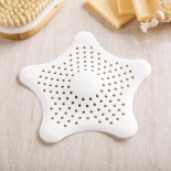 Starfish Drain Hair Catcher (White) - Umbra