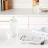Water Bottle Ice Tray (Marble White) - W&P