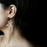 Waterweeds Earrings M (Gold) - Moorigin