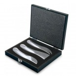 WAVE Cheese Knife Set 3 pcs (Stainless Steel) - Philippi