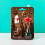 Winter Wonder Christmas Magnets (Set of 4) - Qualy