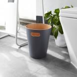 Woodrow Trash Can (Charcoal / Natural) - Umbra