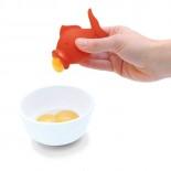 YolkFish Egg Yolk Separator (Orange) - Peleg Design