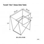 Zen Side Table - Tonelli Design