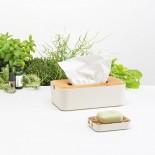 Zen Tissue Box (White) - LEXON