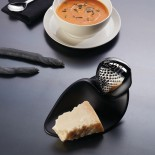 Forma Cheese Grater by Zaha Hadid (Stainless Steel) - Alessi