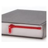 Zipmark Zipper Bookmark (Red) - Peleg Design