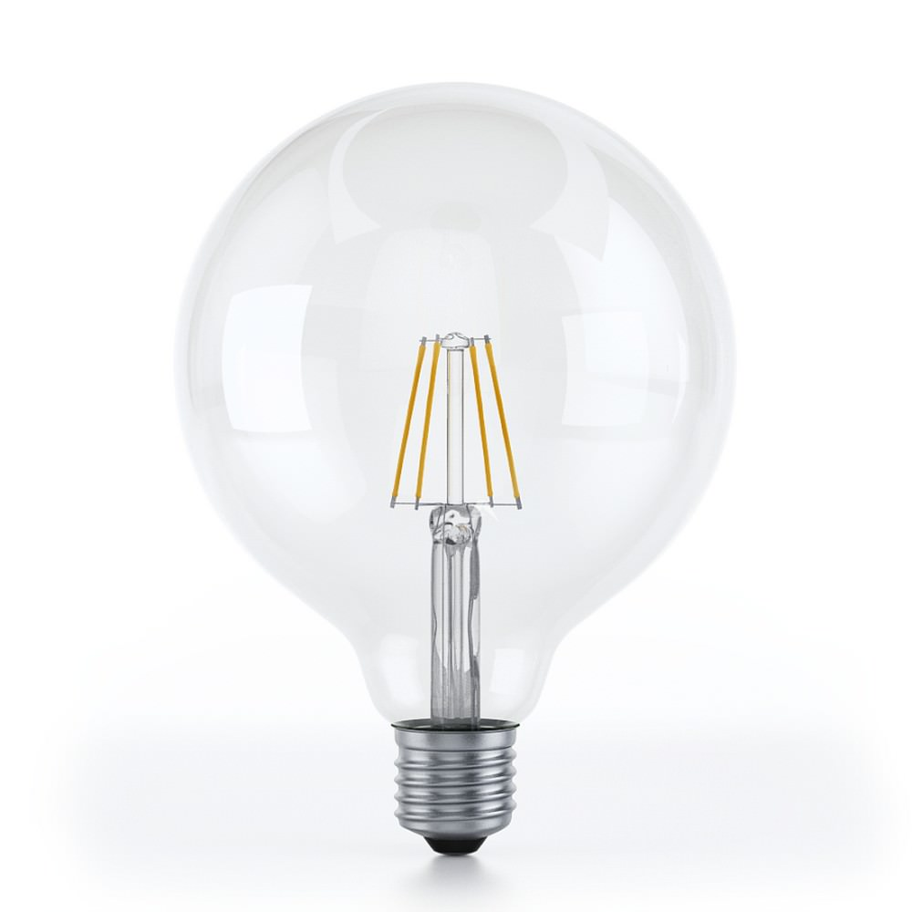 G125 Dimmable Vintage Led E27 Round Bulb 4 Watt Design Is This