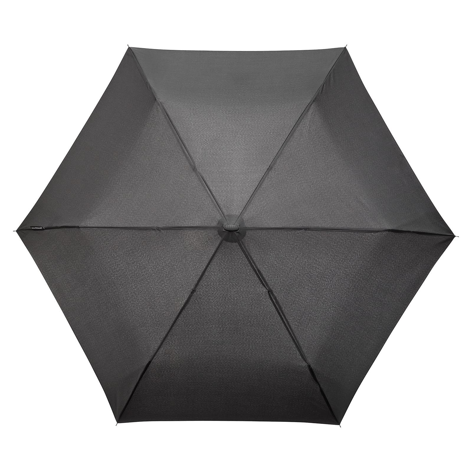 5d11faa6e Impliva MiniMAX® Flat Folding Umbrella Black | Design Is This