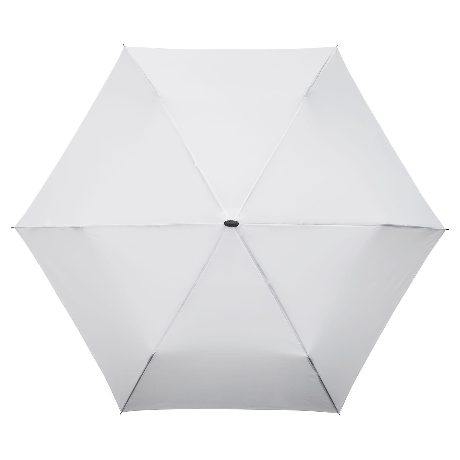 6ceda7b1f Impliva MiniMAX® Flat Folding Umbrella White | Design Is This
