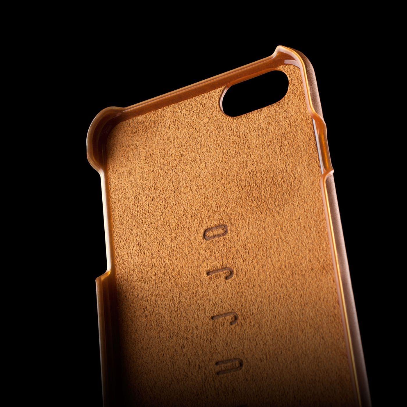 Leather Wallet Case 80⁰ for iPhone 6 6S Plus (Tan) - Mujjo 09ec7b551bfa5