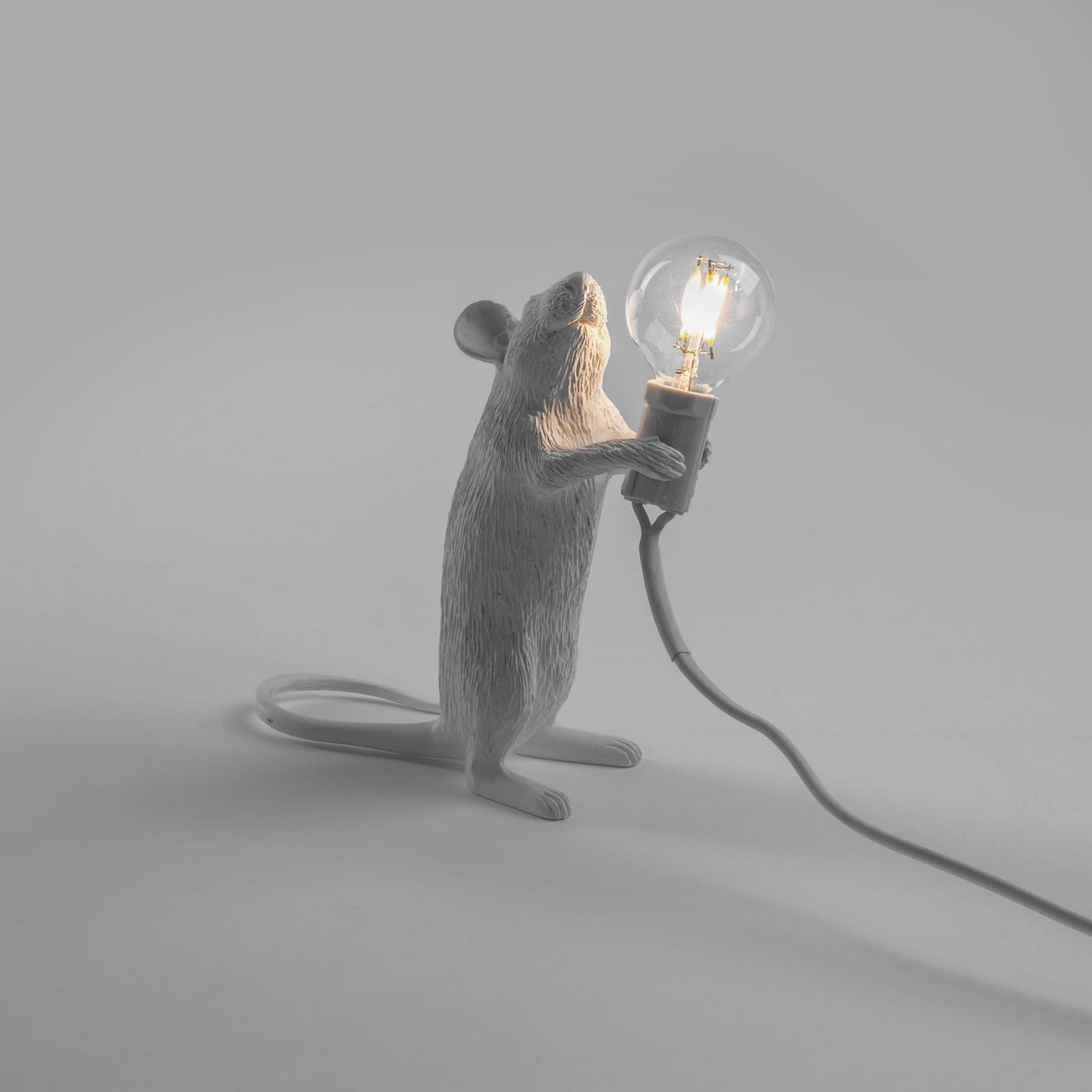 mouse lamp standing seletti design is this. Black Bedroom Furniture Sets. Home Design Ideas