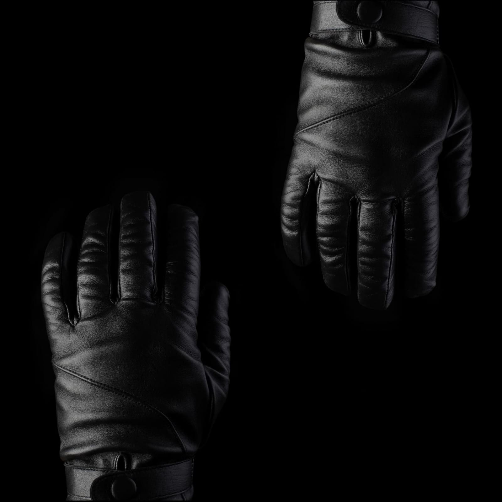 quality design bf5de 3fc48 Leather Touchscreen Gloves - Mujjo