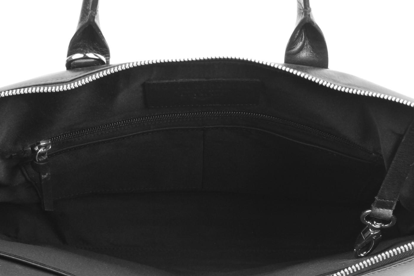 41a2e931c5 Δερμάτινη Τσάντα New Courier (Μαύρο) - Royal Republiq