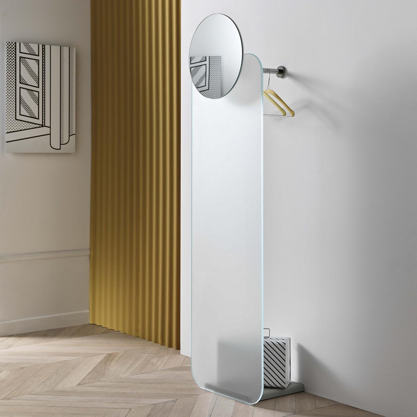 Opalina Wall Mounted Coat Hanger Amp Mirror Tonelli Design
