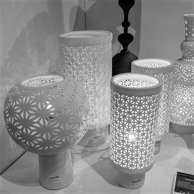 Porcelain Table Lamp Stars Large Pols Potten Design Is This