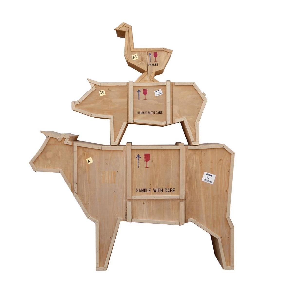 Sending animals polymorphic furniture cow seletti
