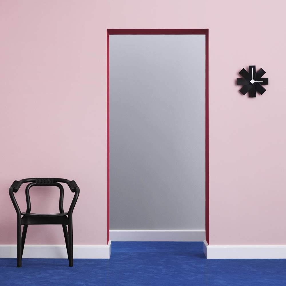 Watch Me Wall Clock Black Normann Copenhagen Design