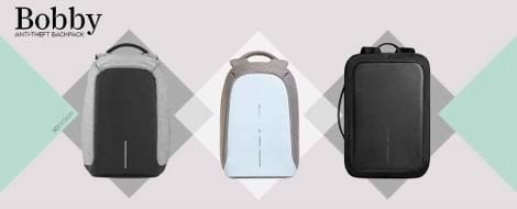 Bobby Anti-Theft Backpacks by XD Design
