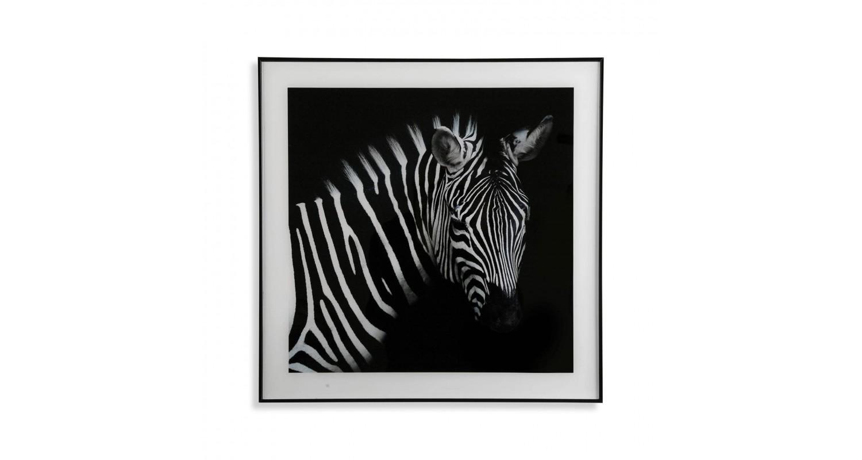 Διακοσμητικό Κάδρο Zebra Versa