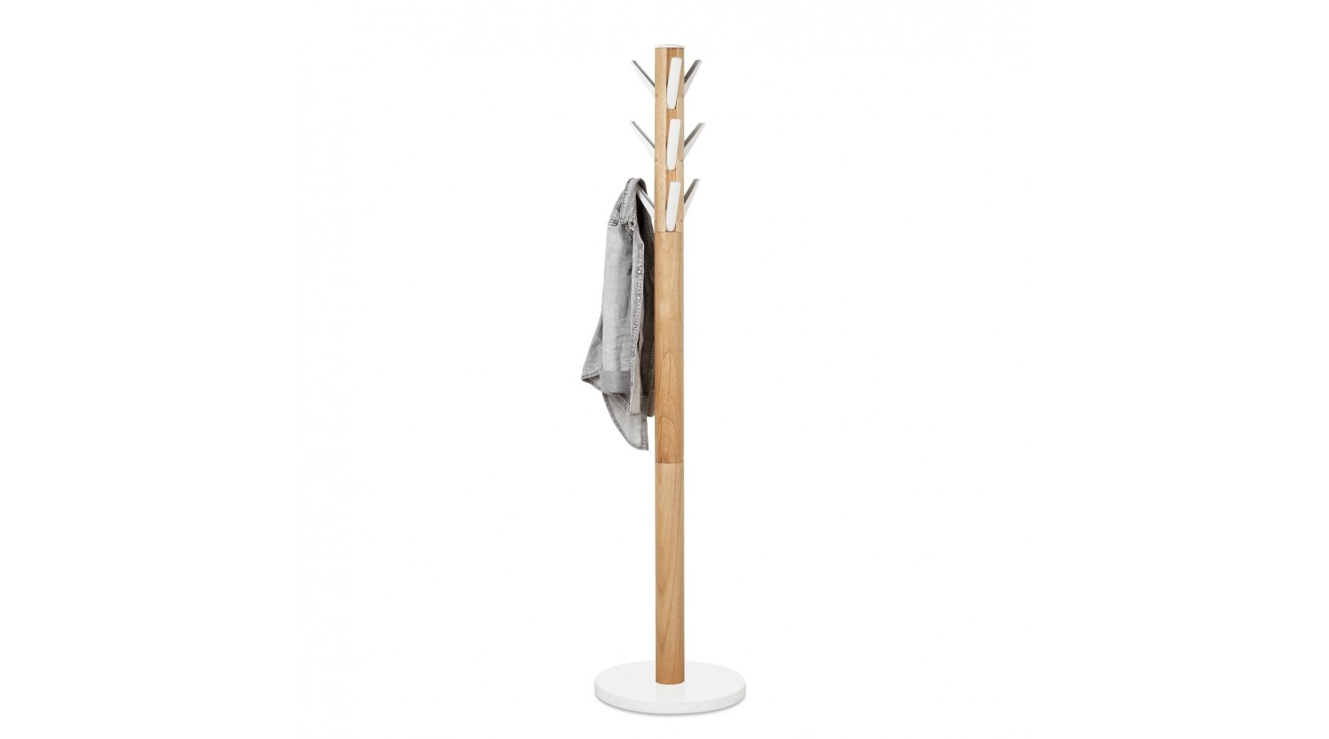 Umbra Flapper Coat Rack White Natural Design Is This